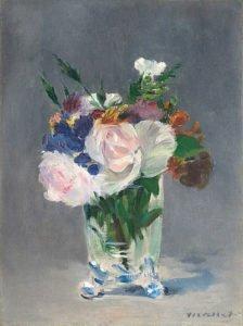 Flowers in a Crystal Vase (1882)