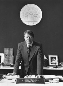 Jimmy Carter as Governor of Georgia