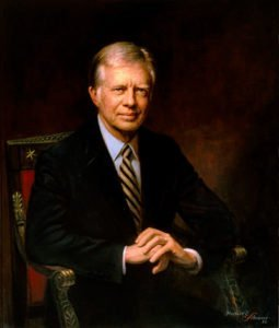 Jimmy Carter presidential portrait
