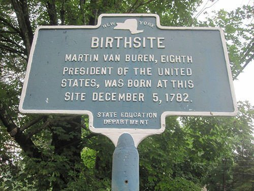 Martin Van Buren birthplace