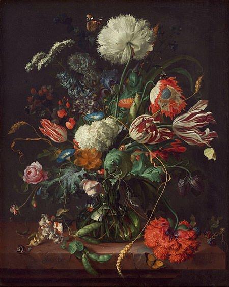 Vase of Flowers (1645)