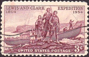 Lewis and Clark Expedition Stamp