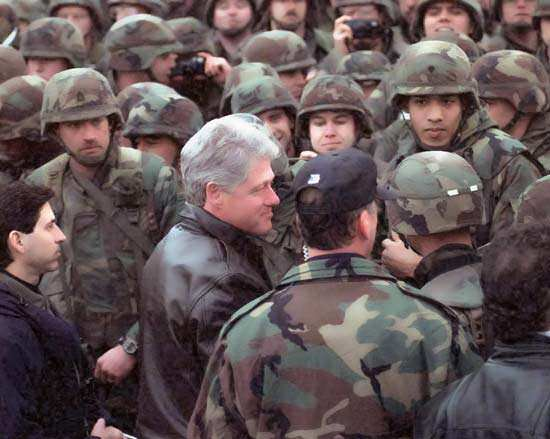 Bill Clinton Bosnian War