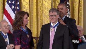 Bill Gates Presidential Medal of Freedom