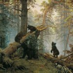 Morning in a Pine Forest (1889)