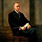 Calvin Coolidge Presidential Portrait