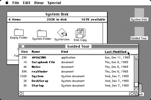 Apple Macintosh GUI