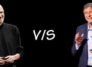 Steve Jobs Vs Bill Gates Featured