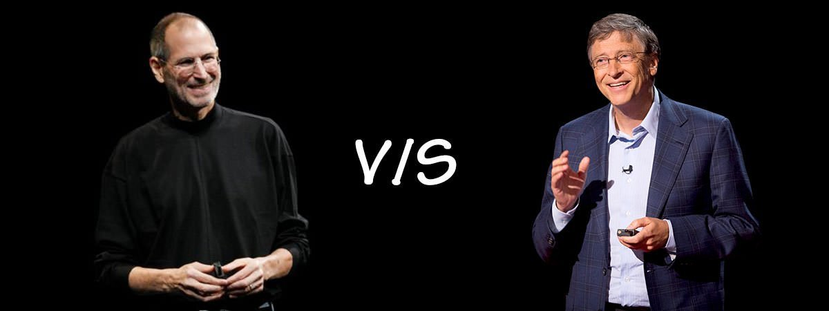Steve Jobs Vs Bill Gates Featured