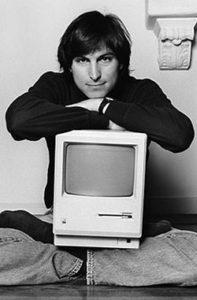 Steve Jobs in 1985