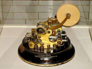 Edison's Stock Ticker