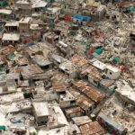 2010 Haiti Earthquake destroyed homes