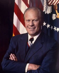 Gerald Ford in 1974