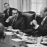 Gerald Ford with President Richard Nixon