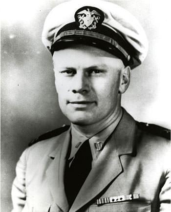 Lieutenant Commander Gerald R. Ford