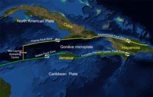 Enriquillo-Plantain Garden fault zone