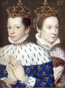 Mary and Francis II, King of France