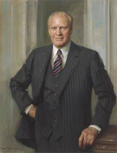 Gerald R Ford Presidential Portrait