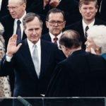 George H. W. Bush Presidential Oath