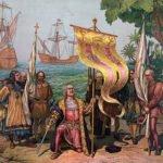 Christopher Columbus Landing in New World