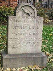 Edgar Allan Poe grave