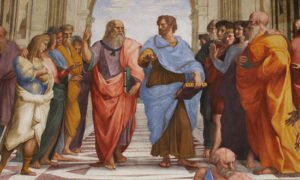 Plato and Aristotle in The School of Athens