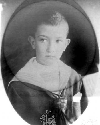 Salvador Dali in childhood
