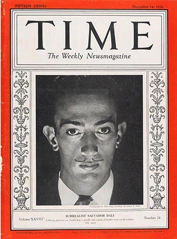 Salvador Dali on TIME magazine