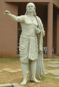 Aryabhata statue