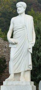 Statue of Aristotle in Stagira
