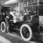 A Ford assembly line