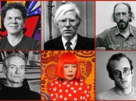 Famous Pop Art Artists Featured