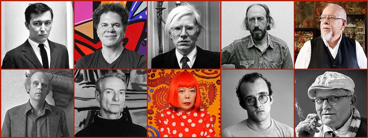 Famous Pop Art Artists Featured