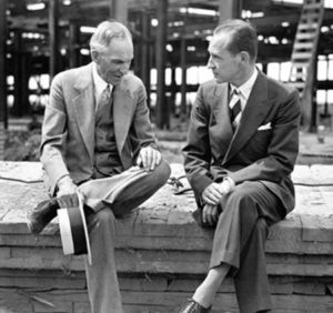 Henry Ford and Edsel Ford