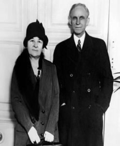 Henry Ford and Clara Bryant Ford