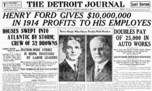 Ford $5 day wage