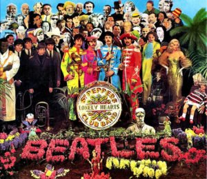 Sgt Pepper's Lonely Hearts Club Band Album Cover (1967)