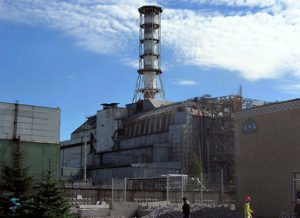 Chernobyl Power Plant sarcophagus