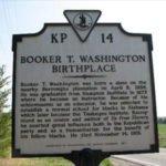 Booker T Washington birthplace