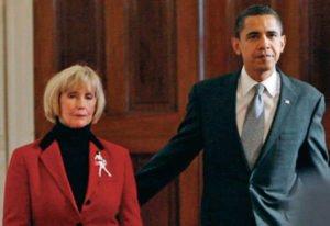 President Obama with Lilly Ledbetter