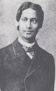 Rabindranath Tagore in 1879