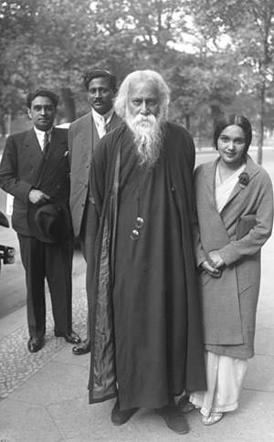 Rabindranath Tagore in Germany