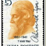 Rabindranath Tagore stamp