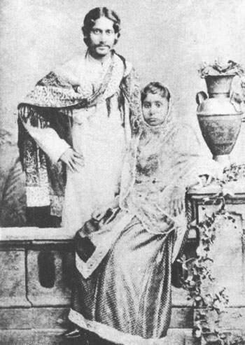 Rabindranath Tagore and Mrinalini Devi