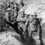 Australian soldiers in the Second Battle of Ypres