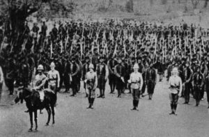 British troops in Togoland, 1914