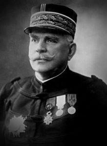 French Commander-in-Chief Joseph Joffre