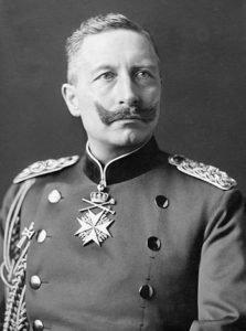 German Emperor Kaiser Wilhelm II