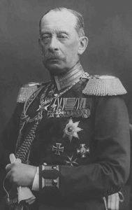 German Field Marshal Alfred von Schlieffen