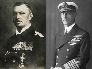 Reinhard Scheer & Sir John Jellicoe